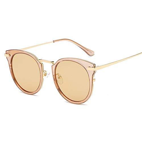Stil der Sonne Spiegel weiblich die Flut verbringen Sie einen Urlaub, um teilweise zu leichten Sandstrand Sonnenbrillen das runde Gesicht Zeigen verlieren kleine Gesicht Stil kurzsichtig TOU