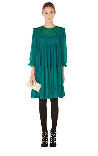 Manoush -  Vestito  - Donna Anatra verde 34