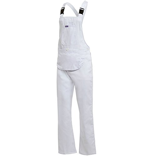 Click Women's Dungarees Work Trousers - Bib and Brace Painters Overalls Coveralls for Ladies