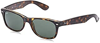 Ray-Ban Unisex-Adultes Nouveau Wayfarer Ray-Ban Nouveau Wayfarer Lunettes de soleil, RB 2132 52 902 52 mm Tortoise,Green G-15 (B000GLP4D6) | Amazon price tracker / tracking, Amazon price history charts, Amazon price watches, Amazon price drop alerts