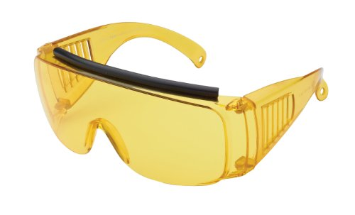 Sport Sonnenbrille Sportbrille zum Überziehen, gelb transparent, No. 7004-2