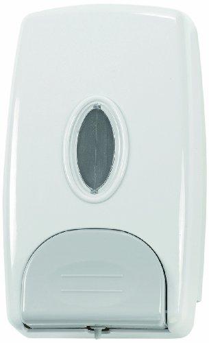 Quicky Distributeur de savon liquide en plastique Rechargeable Blanc Contenance 1000 ml 13 x 225 x 80 mm