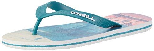 O'Neill Herren Fm Profile Pattern Flip Flops Zehentrenner Blau (BLUE Allover Print W/ WHITE 1)