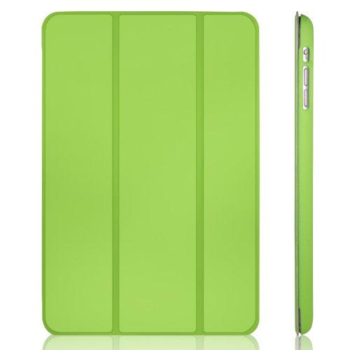 JETech Hülle für Apple iPad mini 3 iPad mini 2 iPad mini, Licht und Dünn Schutzhülle mit Ständer Funktion und Auto Einschlafen/Aufwachen , Grün Apple Ipad Mini 3 Smart Case