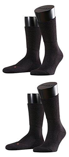 Preisvergleich Produktbild Falke Unisex Socken Walkie Light 2er Pack, Größe:46/48;Farbe:anthracite melange