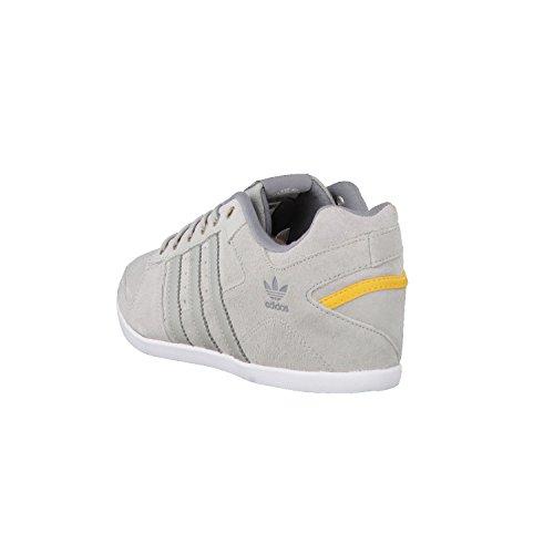 adidas Originals Plimcana 2.0 Low, Baskets mode homme gris jaune