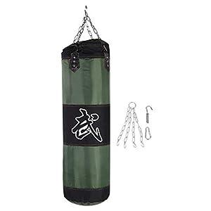 Dilwe Punch Sandsack, Strapazierfähiger Boxsack aus Schwerer Canvas Tasche...