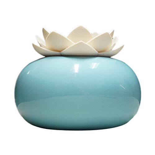 LuckyGirls Cerámica Lotus Humidificador Aromaterapia
