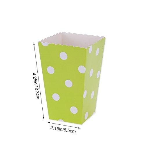 confronta il prezzo Scatole di popcorn, contenitori di caramelle scatole di carta per i favori del partito di film, 36pcs (colore 1) miglior prezzo