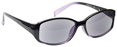 UV Reader Sonne Leser Lesebrille Sonnenbrille Damen Herren Lila UVSR002+ 1,00