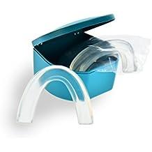Doctor Bite Start - 2 x Férula de Descarga Automoldeable para para Bruxismo, ronquidos y rechinar de dientes