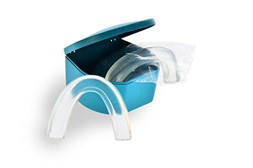 Doctor Bite Start - 2 x Férula de Descarga Automoldeable Super Fina para para Bruxismo, ronquidos y rechinar de dientes