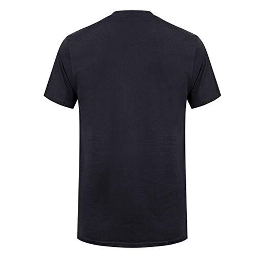 Imagen de camisetas hombre,riou camiseta de manga corta elástica de verano de originales estampada casual ocasional de los hombres tops blusa o cuello verano alternativa