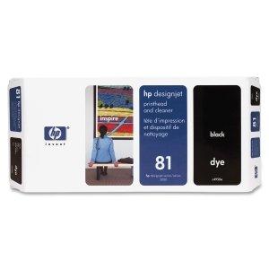HP 81schwarz Druckkopf/cleaner-no 81schwarz Dye Druckkopf/PH–DesignJet 50005500