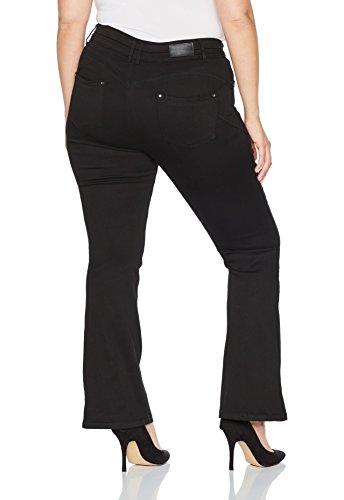 Simply Be Damen Jeans Premium Shape&Sculpt Bootcut Schwarz