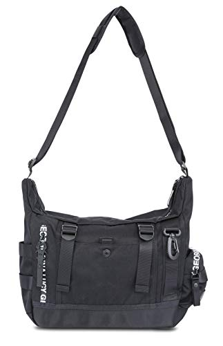 George Gina & Lucy Nylon Roots Solid Baglava Black
