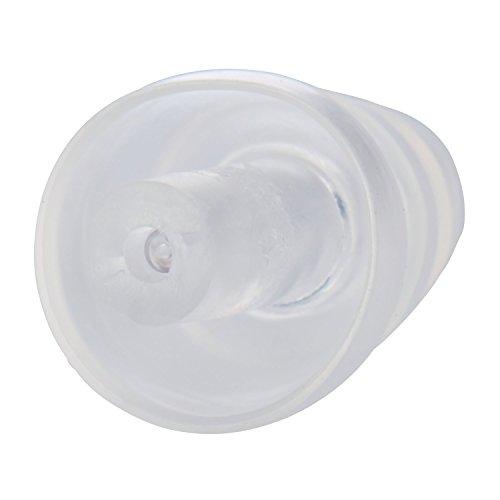 3M E-A-R ClearE-A-R Gehörschutzstöpsel UF01021, SNR = 20 dB, nahezu unsichtbar im Ohr