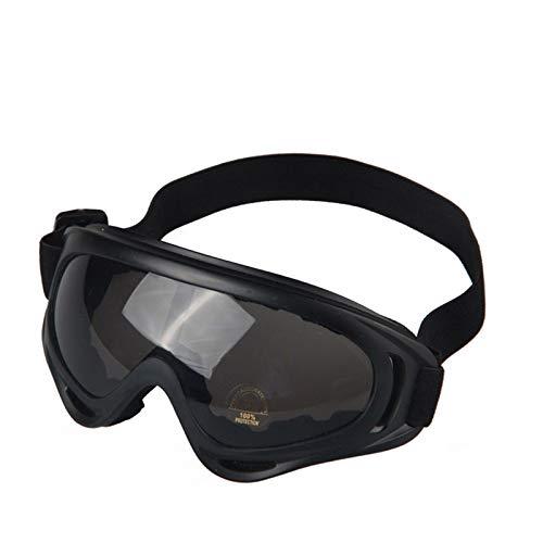 Sportsonnenbrille Retro Damen Herren Radfahren Brille Outdoor Sportbrillen Motorradbrillen Skibrillen Anti Impact Taktische Brille Grau
