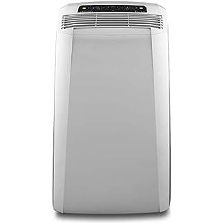 DeLonghi PAC CN94 63dB 1000W Blanco aire acondicionado portátil – Aire acondicionado portátil (A, 1000 W, 220-240, Blanco, LCD, 449 mm)