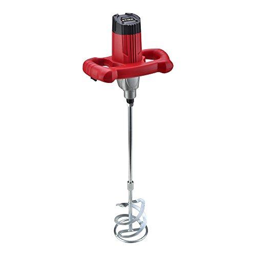 STIER Rührwerk RW80, Nennleistung: 1220 W, Nennumdrehungen: 0-480/0-800 rpm, Max. Mischvolumen: 80 l, zur Mischung von zähflüssiger Farbe, Mörtel, uvm, Mörtelrührer