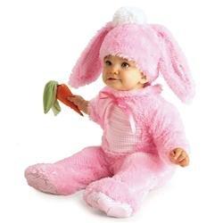 New Born Kostüme (Wertvolle rosa Wabbit - Baby wachsen - Kinder Kostüm - 0 bis 6)