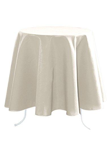 Lovely Casa N154689019 Nelson Tischdecke, aus Baumwolle, 148 x 300 cm, Weiß