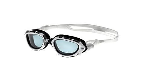 Zoggs Predator Flex Goggles-White/Black/Smoke by Zoggs