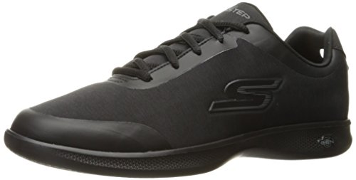 Skechers Go Step Lite-interstelllar, Sneaker Donna Black / Heather Gris