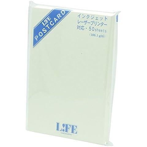 Vida postal, blanco crema, 50hojas wa140d