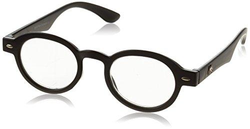 Sunoptic MR92+2.50 Montana Eyewear Lesebrille in schwarz - Stärke +2.50 Inklusive Soft Etui, 1er Pack (1 x 1 Stück)