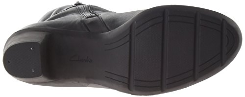 Clarks Lucette Holly Wasserdichte Stiefel Black Leather