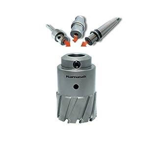 Power-Max 55 – Sierra de corona de metal duro, solo cuerpo de sierra, profundidad de corte 55 mm, diámetro 80 mm