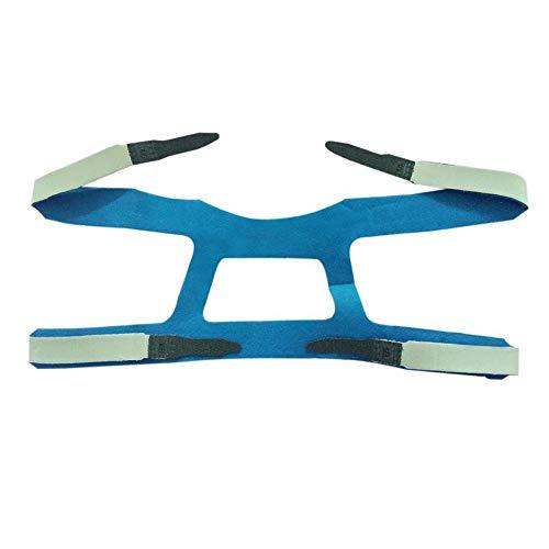 QingTanger Kopfbedeckungen Comfort Gel Vollmaske Sicher Umwelt Replacement CPAP Kopfband
