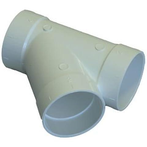 Splitter a 45° per aspirapolvere centrale sistema tubi sottovuoto, da