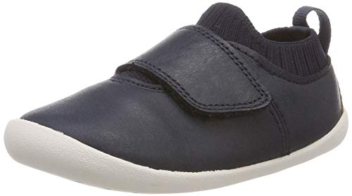 Clarks Roamer Seek, Bailarinas Bebés, Azul Navy Leather-