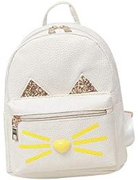 Amazon.es  Blanco - Bolsos mochila   Bolsos para mujer  Zapatos y ... 870bae54e30