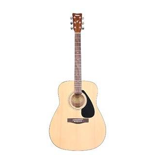 Yamaha F310P2WS, Farbe Natur, Akustik Westerngitarrenset (inkl. Lern-DVD, Gigbag, Gurt, Tuner, Saiten, Pics, Gitarrenständer)