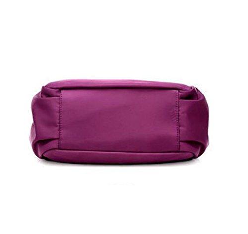Oblique Kreuz Paket Mode Handtaschen Freizeit Nylon Messenger Bag Black