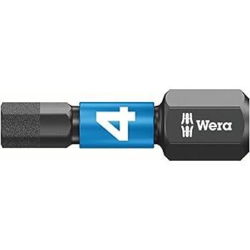 5mm carded Silver Wera 05073945001 Bits for hex Socket Screws Impact 840//4 IMP DC SB 1 x 5,0x50mm