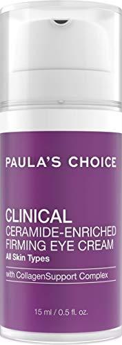 Paula's Choice Clinical Ceramide Augencreme   Reichhaltige Anti Aging Creme Reduziert Falten   mit Retinol, Vitamin C & Squalan   Alle Hauttypen 15 ml