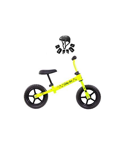 Grupo K-2 Minibike Bicicleta para Niños Baby Star Amarillo Fluor