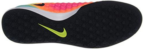 Nike Magistax Finale Ii Tf, Chaussures de Football Homme Multicolore (Volt Gelb/Total Orange/Pink Blast/Schwarz)