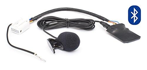 Bluetooth Audio Freisprechanlage 12pin VW: RCD-200/210/300/310/500, RNS-300/310, MFD2 - - - SKODA: Beat, Cruise, Dance, Stream, Nexus, Swing - - - - AUDI: Chorus , Concert 2+/3, RNS-E, BNS 5.0 BIS Baujahr Juli 2010