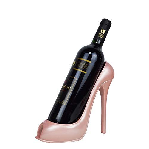 YSCYLY High Heel Schuh Weinflasche Halter Wein Regal Praktische Skulptur Weinregale Wohndekoration...
