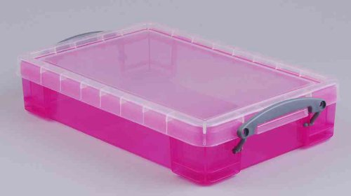 Really Useful Box 4 Litre - Color: Bright Pink for sale  Delivered anywhere in Ireland