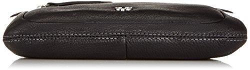 Gerry Weber Napoli II Clutch 4080003242 Damen Clutches 26x15x1 cm (B x H x T) Schwarz (Black 900)