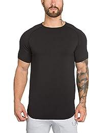 Toamen Primavera e LEstate del 2019 Nuovi Abiti Sportivi di Fitness Vestiti Sciolto Colore Solido Maglietta Senza Maniche da Uomo Slim T-Shirt