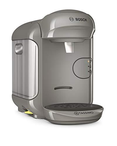 Bosch TAS1406 Tassimo Vivy 2 1300 - Cafetera monodosis, plástico, color gris