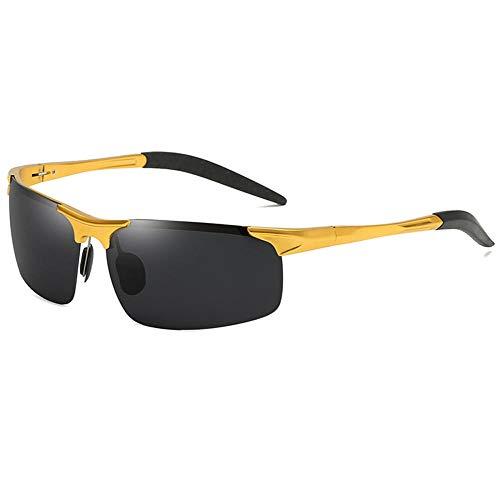 Polarisierte Sonnenbrille, Aluminium Magnesium Outdoor Sports Ride Anti-UV Rating: UV400 @ 4