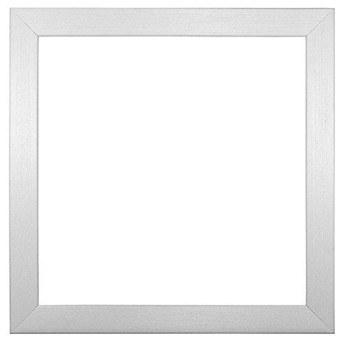 """3d marco de caja profundo gama de fotos/póster/marco para Póster (–con una parte trasera de tablero DM Junta–listo para colgar o soporte–con una alta claridad estireno irrompible plexiglás hoja–3d-deepbox-parent, poliestireno Polcore, Blanco, 8""""x8"""""""